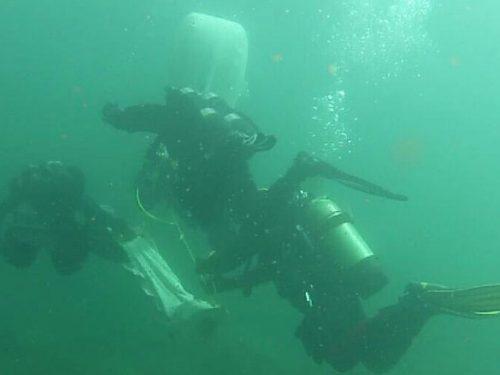 Immersione lago di Lecco