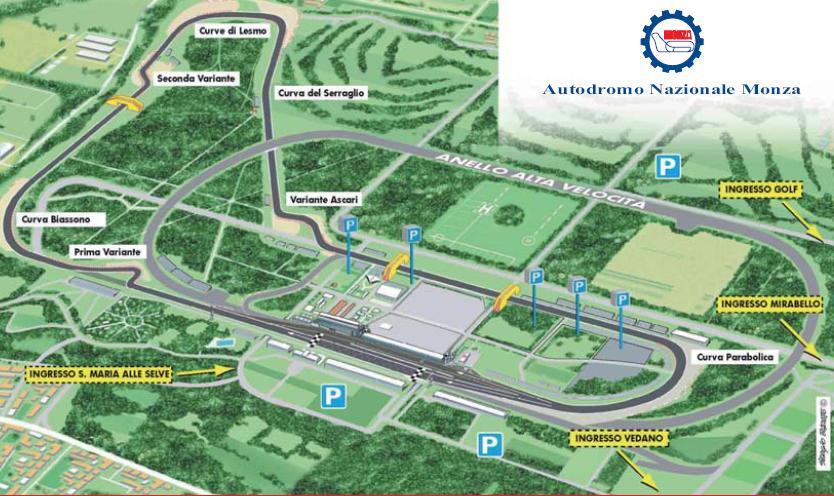Circuito Monza : Xzonextreme web news