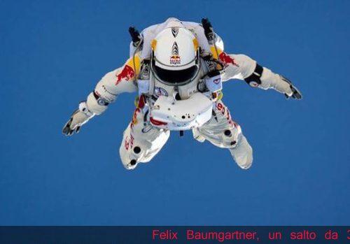 Record In caduta libera Felix Baumgartner dai limiti dello spazio