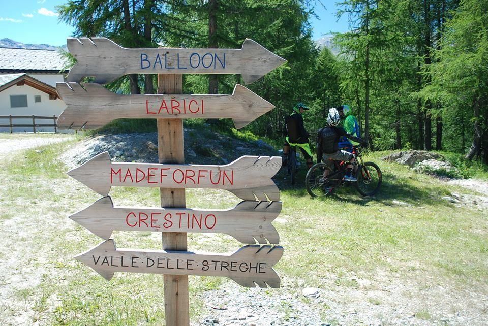 Downhill madesimo mountainbike
